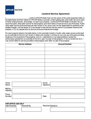 14 Printable Landlords Property Management Agreement