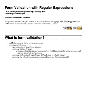 Printable login form validation in php w3schools to Submit Online