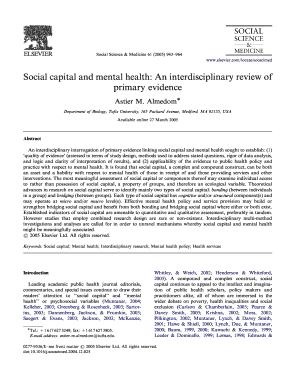 Mental health assessment online fill out online forms templates social capital and mental health an interdisciplinary review of bb pronofoot35fo Gallery