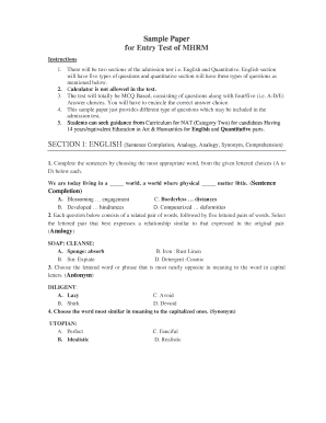 sample graduation letters to daughter sample entry test paper and important information mhrm 2015