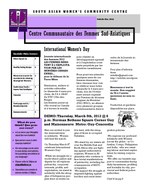 March Bulletin PDF - South Asian Women's Community Centre