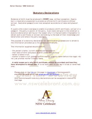 statutory declaration nsw download