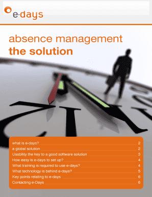Fillable Online E-Days Technical Brochure pdf(881KB) - Hr
