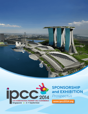 SPONSORSHIP and EXHIBITION Prospectus - bIFPCSb - ifpcs