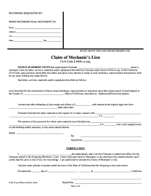 owelty lien california - Edit & Fill Out Online Templates
