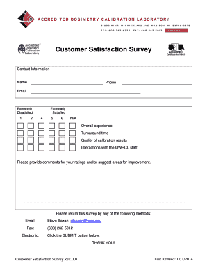 Customer Satisfaction Survey Template Word. Customer Satisfaction Survey    Buwmrrcbbwiscbbedub  Customer Survey Template Word