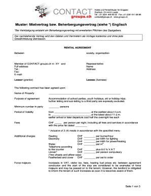 Fillable Online Groups Prototype Of Lease Pdf Contact Groupsch