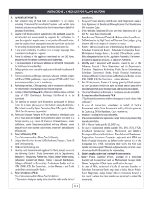 Editable kyc documents for nri sbi - Fill Out & Print