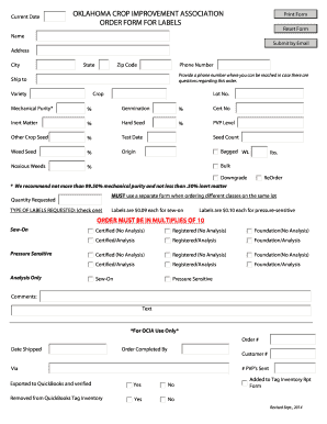 sales order template quickbooks - Edit, Fill Out, Print & Download ...