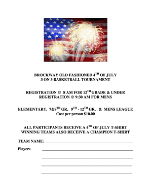 Basketball champion certificate edit fill out online templates brockway old fashioned 4 of july 3 on 3 basketball tournament pronofoot35fo Choice Image