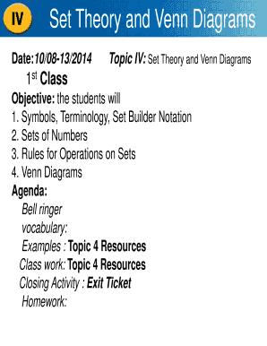 fillable online kidslearningmath set theory and venn diagrams -  kidslearningmathnet fax email print - pdffiller