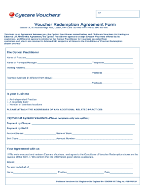 Fillable Redemption Agreement Template Form Samples To
