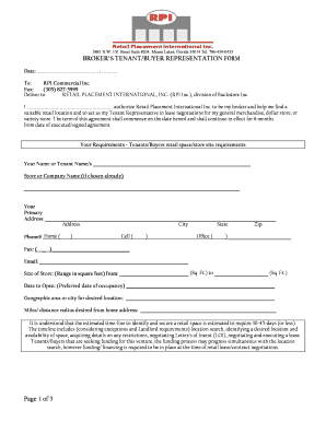 sample letter of intent to lease commercial retail space edit