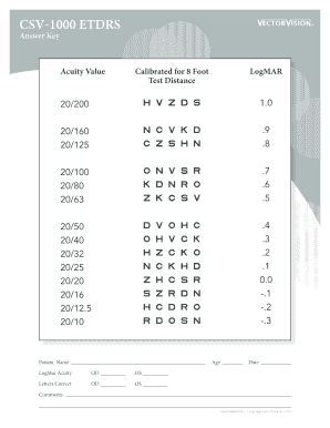 etdrs font - Fillable & Printable Templates to Download in