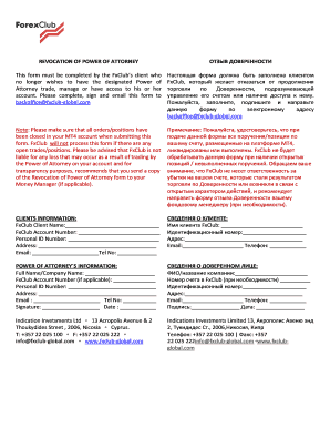 Free Limited (Special) Power of Attorney Forms - PDF | Word – eForms