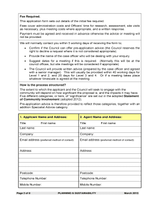 BPreb Application BPlanningb Advice REQUEST BFORMb   Wycombe Bb