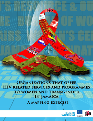 1 MAPPING COVER - Jamaica AIDS SUpport for Life - jasforlife