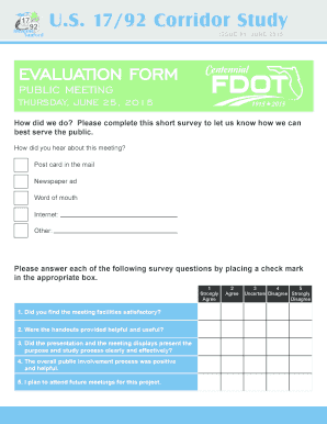Fillable Post Meeting Survey Questions Samples To Complete Online
