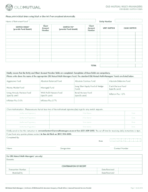 Old Newspaper Template. Switch Form   Old Mutual Multi Managers