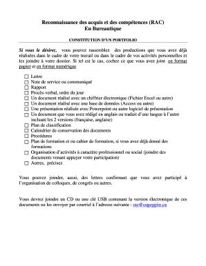 Reconnaissance des acquis et des comptences RAC