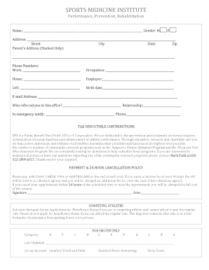 picture about Printable Sports Physical Forms known as Sporting activities bodily therapist undertaking description - Edit Fill Out