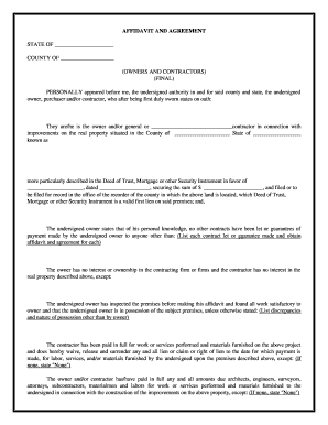 General Contractor Contract Forms Templates Fillable Printable - General contractor forms templates