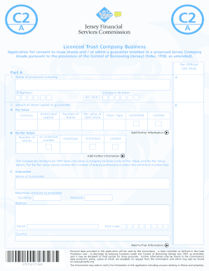 Fillable Online C2(a) Form - the Jersey Financial Services ...