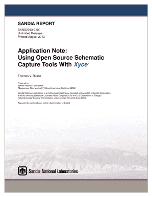 Fillable Online prod sandia Application Note: Using Open Source ...