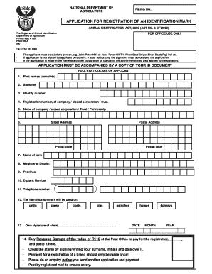 Identification Mark Example - Fill Online, Printable
