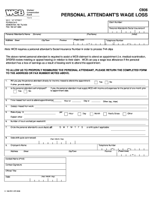 Wcb Form C936 And How To Complete - Fill Online, Printable ...