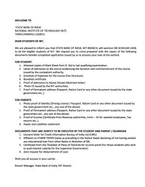 Editable sbi home loan disbursement request form - Fill Out