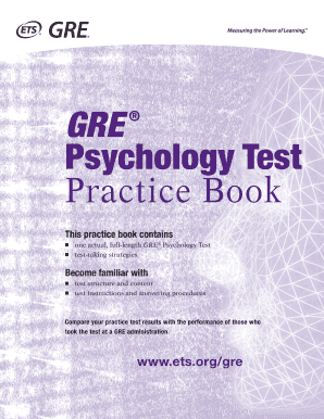 gre psychology subject test prep book pdf form