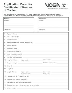 dead test certificate pdf uk