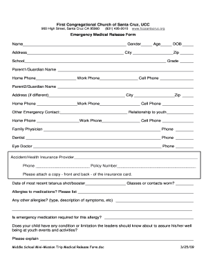 Medical Forms For School Gallery