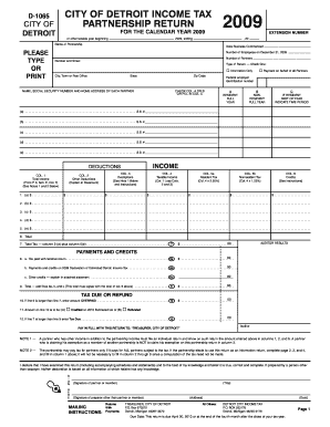 Detroit 1065 Extension Form - Fill Online, Printable, Fillable ...