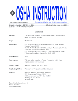 Osha emergency action plan template fill out online download osha emergency action plan template this instruction describes and implements a new osha initiative pronofoot35fo Image collections