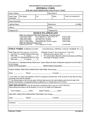 Applicant Referral Form - Fill Online, Printable, Fillable, Blank ...
