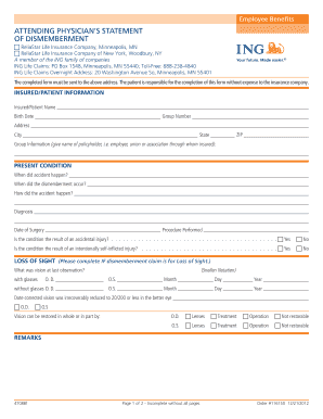 Blank Physician Statement Insurance - Fill Online, Printable ...