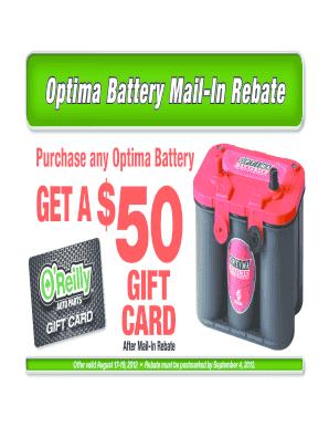 Orilie Optima Battery Fill Online Printable Fillable Blank Pdffiller
