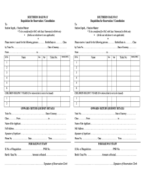 Sample Train Ticket Pdf