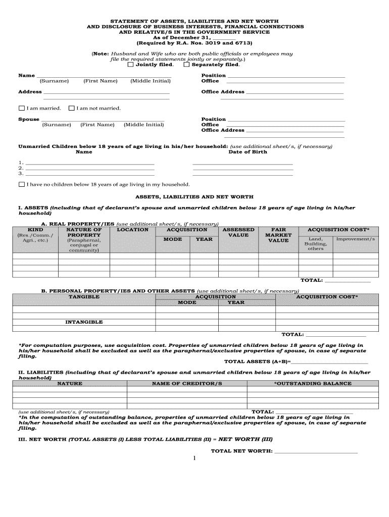 Saln Form - Fill Online, Printable, Fillable, Blank | PDFfiller