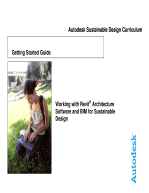 Autodesk Sustainable Design Curriculum Getting Started Guide ...