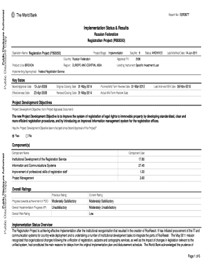World Bank Application Form - Fill Online, Printable, Fillable ...
