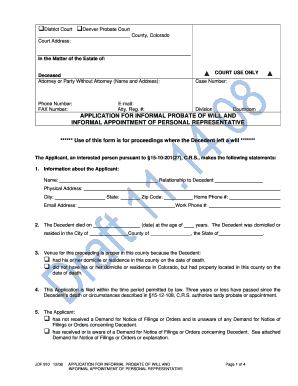 Bill Of Sale Form Application To Probate Will Templates