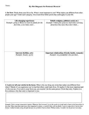 plot diagram example - Edit, Print, Fill Out & Download Online Forms