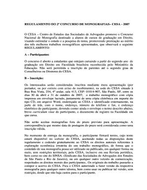 1 Concurso De Monografia Cesa Org