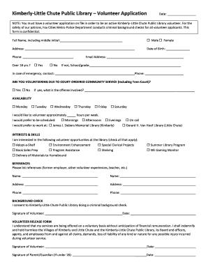 301793909 Volunteer Application Form Public Liry on