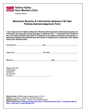 Editable Electronic Employee Handbook Acknowledgement Form - Employee handbook acknowledgement form template