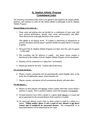 303709383 Team Commitment Letter Template on statement employer, stay treatment, for atlas job, purchase agreement, pledge card, printable fixed, letter match, ceremony certificate, for time out,