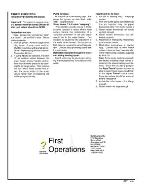 Fillable Online FIRST CO VAQ RAQ SERIES FAN COIL UNIT Fax